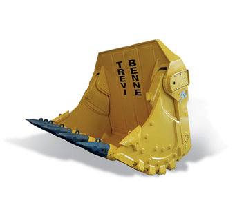 Mining face shovel bucket